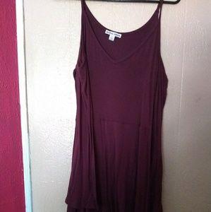 Moral fiber long sleeve short dress